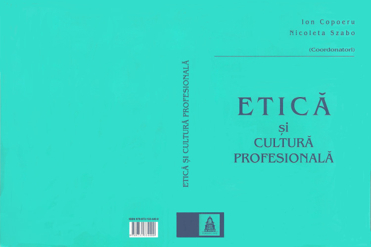 Etica si cultura profesionala